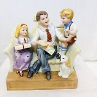 Vintage Another Grenadier Father's Day Decanter Porcelain 1979 Rare Full Size