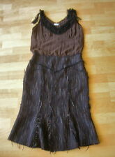 PAUL SMITH Women Virgin Wool Sleeveless Cocktail Dress Size 40 Made in Italy