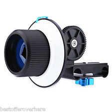 Original WEIHE F1 Follow Focus with Gear Ring Belt for DSLR Camera Camcorder