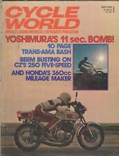 Cycle World - Motorcycle Magazine - March 1974