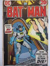 Batman #246 VG+ DC Comics