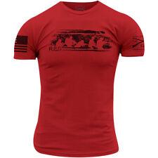 Grunt estilo R.e.d. viernes T-Shirt-Rojo