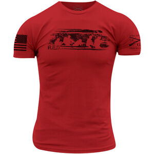 Grunt Style R.E.D. Friday T-Shirt - Red