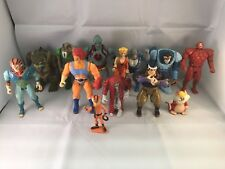 Thundercats 1985 Lot Of 13 Figures cheetara lion-O Snarf, Tygra, Panthro, Etc.