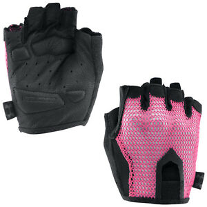 Under Armour Ladies Half Finger Training Gloves Pair Weight Lifting Power Gym