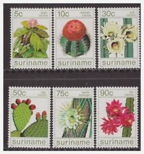 Surinam / Suriname 1985 Cactus kaktus kaktee cactier MNH
