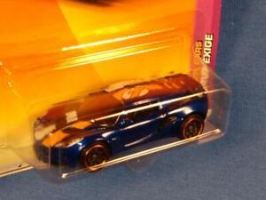 2010 Matchbox Sports Cars #10 Lotus Exige, METALLIC Blue,  MOC! PM1