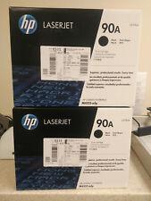 Lot of 2 HP 90A Black Laserjet Toner Cartridges *NEW* Sealed