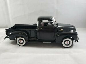 Diecast -1/24 Danbury Mint Limited Edition 2556/5000 1953 GMC Pickup Black