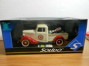 SOLIDO PRESTIGE 1936 FORD V-8 TEXACO WRECKER TOW TRUCK 1/19 SCALE DIECAST