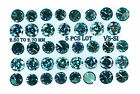 Natural Loose Diamond Round Blue Color 2.50 to 2.70 MM VS-SI 5 pcs Lot N21