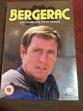 BERGERAC COMPLETE FIFTH SERIES GENUINE REGION 2 UK DVD NEW FACTORY SEALED
