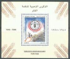 Yemen Republic 1995 ** bl.14 FAO ALIMENTAZIONE Food campi
