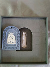 Wedgewood Blue & White Jasperware 2008 Annual Ornament Nib Signed at Factory