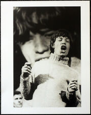 THE ROLLING STONES POSTER PAGE . 1965 MICK JAGGER READY STEADY GO! . R17