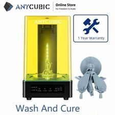 More details for refurbished anycubic wash and cure 2-in-1 machine for sla 3d printers