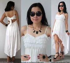Lace Summer/Beach Asymmetrical Hem Dresses for Women