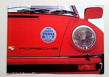 PORSCHE 924 911 TARGA 911 TURBO 911 CARRERA TOLLES PROSPEKT NR. 1123.20 ENGLISCH