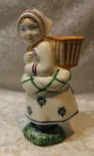 Jus Old Royal Copenhagen 1944 Bud Vase Girl Faience Figure.