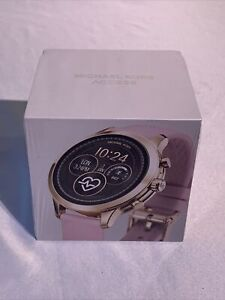 Michael Kors Access Runway 41 mm Case Smartwatch Rose New In Box MSRP $295