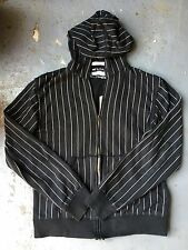PAUL FRANK Vtg/Limited 2006 Men's Hoodie size Large / Pinstripe Goth/Punk/Emo