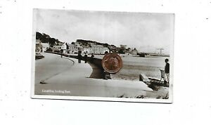 LIMEKILNS Looking East RP Postcard 1934 Postmark Fife