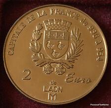 LAON 2 EURO TEMPORAIRE DES VILLES 1998 FDC 1082A57