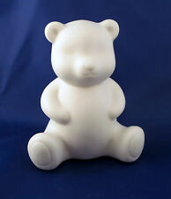 TEDDY BEAR Night Light Porcelain LED New Battery Operated Glows Softly Bedroom