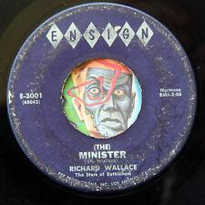 HEAR Richard Wallace 45 Nobody Knows/Minister ENSIGN R&B soul gospel doo wop