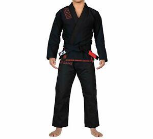 Fuji Submit Everyone Limited Edition Mens Brazilian Jiu-Jitsu BJJ Gi Black w Red