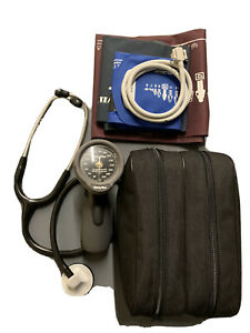 Welch Allyn DS66 w/3 Cuff Blood Pressure Kit w/ 3M Stethoscope included