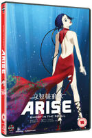 Ghost in the Shell Arise: Borders Parts 3 and 4 DVD (2015) Kazuchika Kise cert