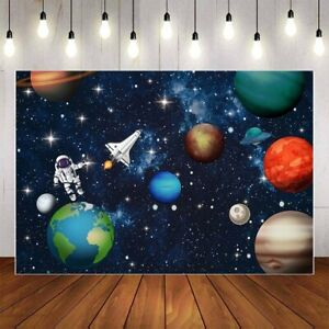 Earth Universe Space Planet Photography Background Spaceship Astronaut Birthday