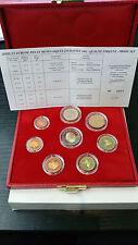 MONACO RAINIER III COFFRET OFFICIEL BE PROOF 8 PIECES 2€ à 1ct 2001 RARE