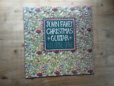 John Fahey Christmas Guitar Volume One Excellent Vinyl Record VR-002