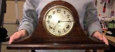 Antique WM. L. Gilbert Clock Co. Tambour Mantel Clock Mechanical Movement
