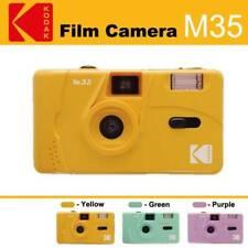 Kodak Vintage Retro M35 35mm Reusable Film Camera Kids Girlfriends Gift Yellow