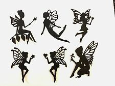 "12 MIXED 3"" FAIRY Die cut Embellishment Paper piecing 4 Jar lantern Paper crafts"