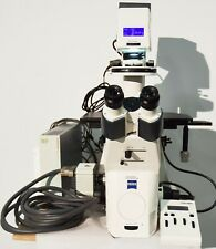 Zeiss Axio Observer D1 Inverted Phase Contrast Fluorescence Microscope Colibri
