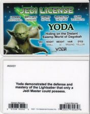 Star Wars Jedi Master YODA of Swamp World Degobah drivers License fake id card