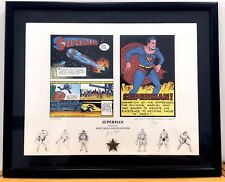 JERRY SIEGEL Origins Of Superman LIMITED EDITION SIGNED FINE ART PRINT 125/500
