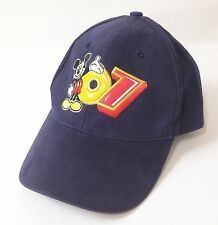 2007 Mikey Mouse Disneyland Resort Youth Navy Baseball Hat Cap