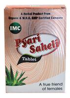 Herbal ( Ayurvedic ) Pyari Saheli Tablets from IMC, 30 Tablets Per Pack