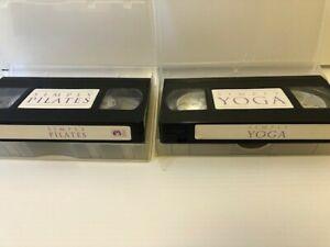 Simply Yoga and Simply Pilates Yolanda Pettinato   VHS Video Tape