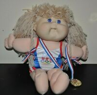 Cabbage Patch OlympiKids 1996 Official Team Mascot USA Signed Xavier Roberts 14""