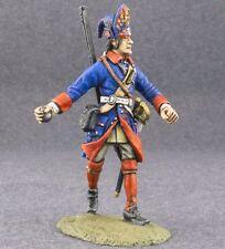 Toy Metal Soldiers Painted Grenadier Throwing Grenade 1/32 54mm