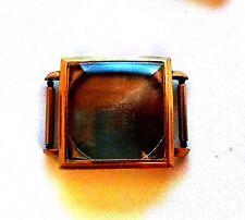 Antique Master Sutton Watch Co. Men's Stainless Steel Wrist Watch Case #UM25