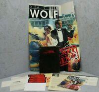 Dynamix DAVID WOLF Secret Agent - Vintage IBM & Tandy Floppy Disc Game - CIB