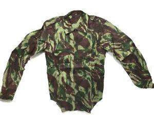 Lizard Camo Shirt, Portuguese Military Size 3 (Small/Medium)