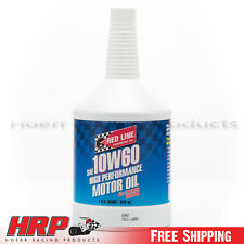 RedLine 10W60 Synthetic Motor Oil -(1 Quart ) PN: 11704